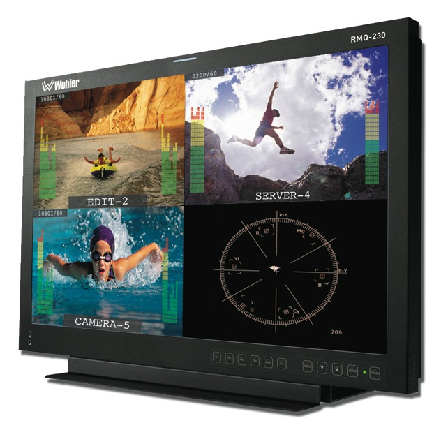 RMQ-230 Quad-Split Monitor